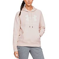 mikina Under Armour Rival Fleece Sportstyle Graphic - 675/Apex Pink