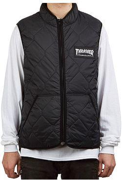 vesta Thrasher Magazine Logo - Black