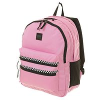 plecak Vans Schoolin It - Fuchsia Pink Checkerboard