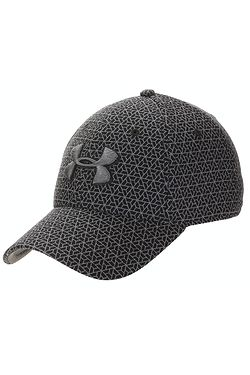 kšiltovka Under Armour Printed Blitzing 3.0 - 019/Charcoal/Black