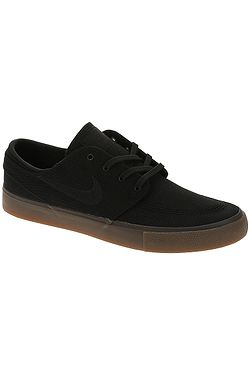 boty Nike SB Zoom Janoski Canvas RM - Black/Black/Gum Light Brown/Black