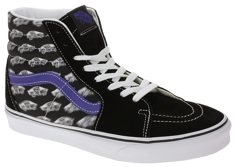 shoes Vans SK8-Hi - Blur Boards/Black