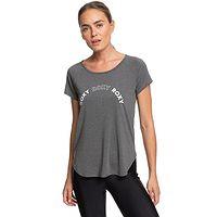 T-shirt Roxy Keep Training - KVJ0/Anthracite - women´s
