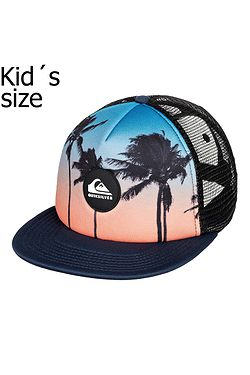 kšiltovka Quiksilver Psychic Patterns Trucker Boy - BSM0/Majolica Blue