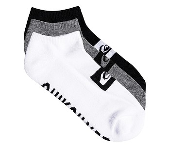 ponožky Quiksilver Ankle 3 Pack - AST/Assorted