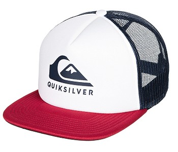 kšiltovka Quiksilver Foamslayer Trucker - WBB0/White
