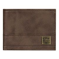 wallet Quiksilver New Stitchy - CSD0/Chocolate Brown - men´s