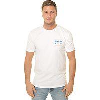 T-shirt Quiksilver Slow Burn - WBB0/White - men´s
