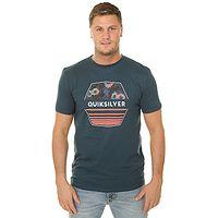 T-Shirt Quiksilver Drift Away - BSM0/Majolica Blue - men´s