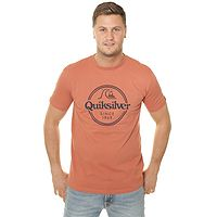 T-shirt Quiksilver Words Remain - MNL0/Redwood