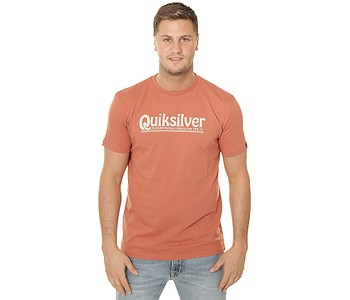 tričko Quiksilver New Slang - MNL0/Redwood