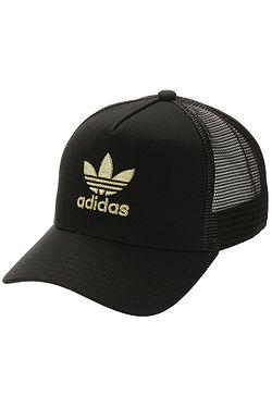 cap adidas Originals Adicolor Gold Trucker - Black/Gold Metallic - men´s