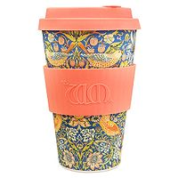 cup Ecoffee Cup Thief/William Morris - Tangerine