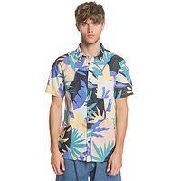 camisa Quiksilver Tropical Flow - WBK6/Snow White Tropical Flo - men´s