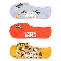 meias Vans Desert Vibe Canoodles 3 Pack - Multi - women´s