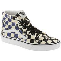 shoes Vans SK8-Hi - Big Check/Black/Navy