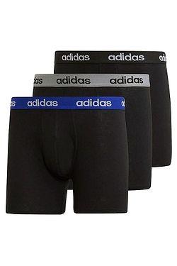 shorts adidas Performance M Co Brief 3 Pack - Black/Black/Black - men´s