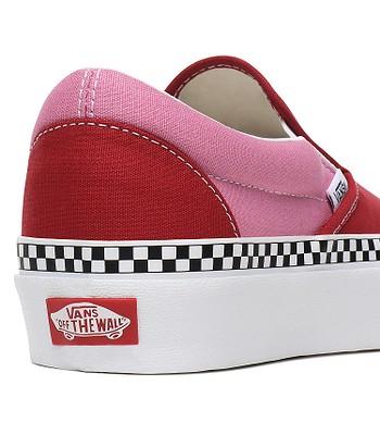 traidor Mayordomo Experto  shoes Vans Classic Slip-On Platform - 2 Tone/Chilli Pepper/Fuchsia Pink -  blackcomb-shop.eu