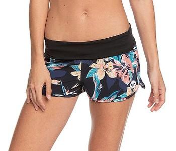 koupací šortky Roxy Endless Summer Printed BS - KVJ6/Anthracite Tropicoco S