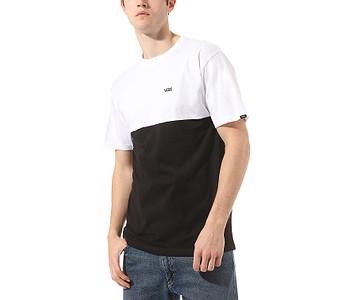 tričko Vans Colorblock - Black/White