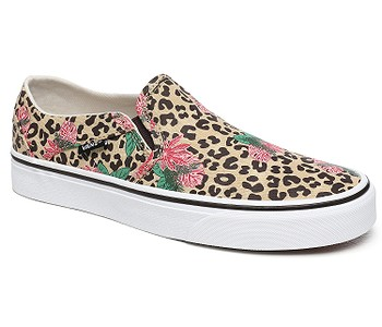 boty Vans Asher - Cheetah Palms/Candied Ginger/White