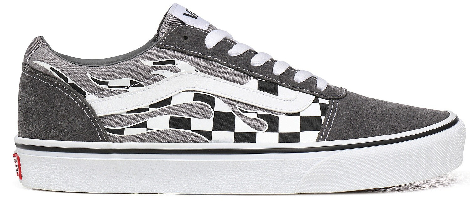 shoes Vans Ward - Flame Check/Pewter