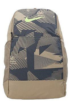 batoh Nike Brasilia Medium AOP - 247/Khaki/Dark Smoke Gray/Ghost Green