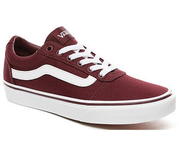 boty Vans Ward - Canvas/Burgundy