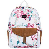 backpack Roxy Carribean - WBK7/Snow White Tropic Call - women´s
