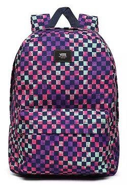backpack Vans Old Skool III - Tie Dye Check