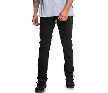 jeans DC Worker Straight Stretch Black Rinse - KVJW/Black Rinse