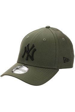 kšiltovka New Era 9FO Essential MLB New York Yankees - Olive/Black