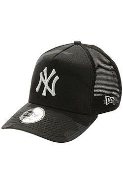 cap New Era 9FO AF Essential Camo Trucker MLB New York Yankees - Midnight Camo - men´s