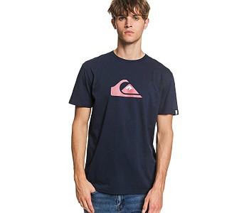 tričko Quiksilver Comp Logo - BYJ0/Navy Blazer