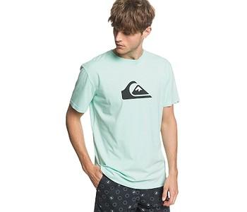 tričko Quiksilver Comp Logo - GCZ0/Beach Glass