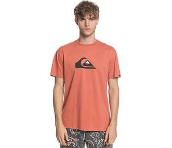 tričko Quiksilver Comp Logo - MNL0/Redwood