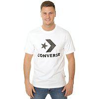 T-Shirt Converse Star Chevron/10018568 - 02/White - men´s