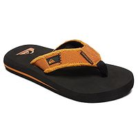 žabky Quiksilver Monkey Abyss - XKNN/Black/Orange/Orange