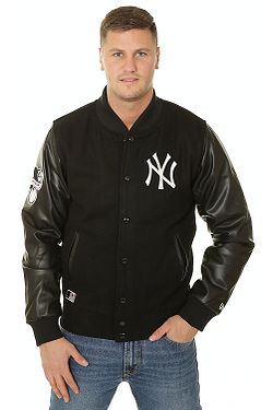 bunda New Era Heritage Varsity MLB New York Yankees - Black