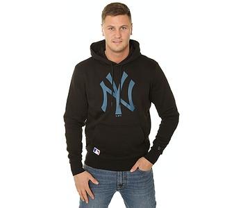 mikina New Era Seasonal Team Logo MLB New York Yankees - Black/Cadet Blue