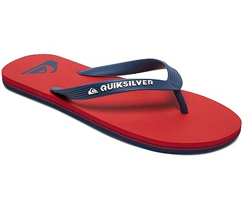žabky Quiksilver Molokai - XRBR/Red/Blue/Red