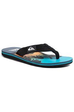 flip flops  Quiksilver Molokai Layback - XKBB/Black/Blue/Blue - men´s