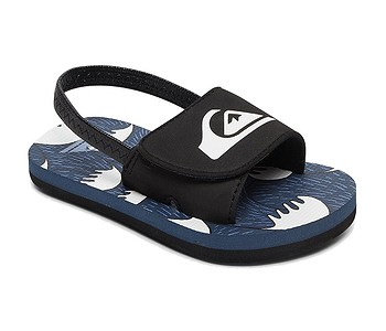 boty Quiksilver Molokai Layback Slide Toddler - XKBW/Black/Blue/White