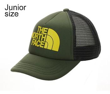 kšiltovka The North Face Logo Trucker Youth - Thyme/TNF Lemon
