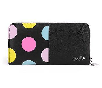peněženka Vuch Starish - Black/Multicolor Dots