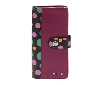peněženka Vuch Tasima - Pink/Multicolor Dots