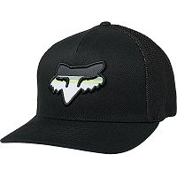 gorra con visera Fox Head Strike Flexfit - Black - men´s