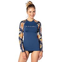 tričko Rip Curl Sunsetter Relaxed LS - Navy
