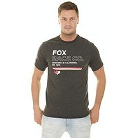 camisa Fox Analog Tech - Heather Black - men´s