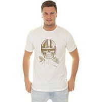 T-shirt Quiksilver Open Face - WBK0/Snow White